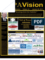 CopaVision Magazine Dream Gala Program