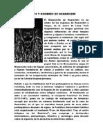 DIOSES Y HOMBRES DE HUARACHIRI