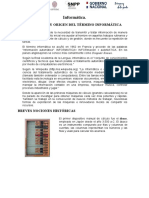 Informática- reseña Histórica