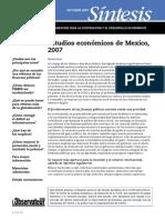Estudio economico de mexico