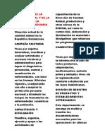 IMPORTANCIA DE LA SANIDAD ANIMAL Y DE LA PATOLOGÍA EN LA PRODUCCIÓN PECUARIA