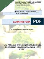Décima Primera Semana Dos. Matriz foda PEA.pptx