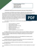 Consideraciones Documentos Rectores