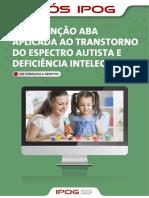 Intervenção ABA aplicada ao Transtorno de Espectro Autista e Deficiência Intelectual - ON-LINE