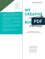My Creative (Side) Business - Monika Kanokova