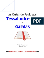 Tessalonissenses e Gálatas