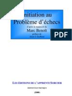 Initiation au Probleme d'Echecs - Marc Benoit (1976)