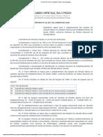 PORTARIA Nº 18, DE 7 DE JANEIRO DE 2019 - Imprensa Nacional