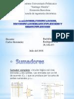 sumadorescodificadoresdecodificadoresmultiplexoresydemultiplexores-160706032119