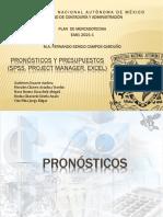 TEMA V. Pronósticos y Presupuestos (SPSS,PM,Excel)