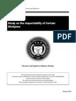 ATF Study on Importality of Certain Shotguns