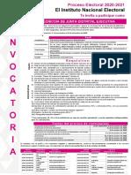 Técnico de Junta Distrital Ejecutiva INE Guanajuato