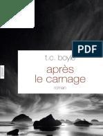Apres Le Carnage TC Boyle- epub
