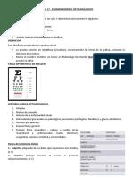 TEMA 17 - EXAMEN GENERAL OFTALMOLOGICO