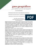 Geografia e educação narrativa e ensaio