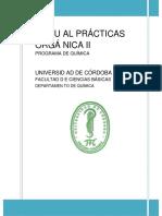 MANUAL PRÁCTICAS ORGÁNICA II