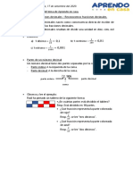 Refuerzo de - Las fracciones decimales okk
