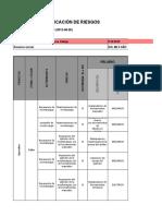 matriz de peligro valoracion de riesgo guia 2