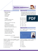 ENEM Amazonas GPI Fascículo 2 – A Expressão Lingüística - Exercícios Complementares