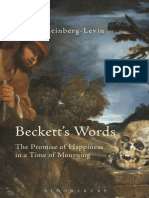 David Kleinberg-Levin - Beckett's Words_ the Promise of Happiness in a Time of Mourning-Bloomsbury Academic (2015)