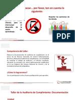 Documentación de auditoria