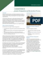 Emergency Disaster Designation Declaration Process-factsheet