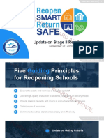 Miami-Dade Public Schools Reopening Readiness