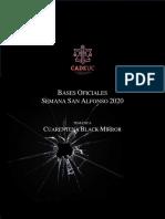 Bases Semana San Alfonso - Oficial