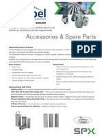 Airpel Filters Spare parts List