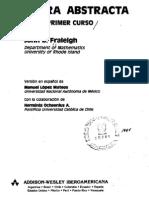 Algebra Abstracta - 3a Ed. - Fraleigh