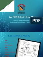 5  La persona humana