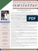 AAS News Fall 2008