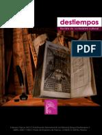 Destiempos55- Novela, modernidad y ensayo
