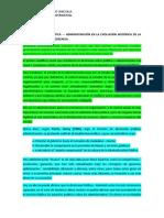 LA DICOTOMÍA POLÍTICA — ADMINISTRACIÓN EN LA EVOLUCIÓN HISTÓRICA DE LA ADMINISTRACIÓN Y AL GERENCIA