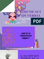 COMUNICACION VERBAL ORAL