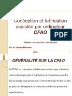 CFAO Cours 1 et 2