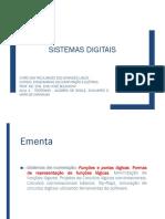 AULA 4 - TEOREMAS - ALGEBRA DE BOOLE, AUXILIARES E MAPA DE KARNAUGH