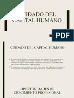 SXI CUIDADO DEL CAPITAL HUMANO