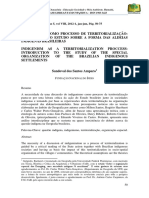 AMPARO - 2012 - Indigenismo como processo de territorialização - introdução ao estudo sobre a forma das aldeias indígenas brasileiras.pdf