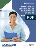 MAESTRÍA EN GESTIÓN DE LOS SERVICIOS DE LA SALUD