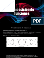 Composición de funciones