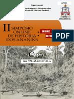 II Simpósio Online de História dos Ananins E-book