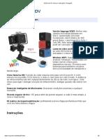 SQ23 mini DV câmera. Instruções. Português_