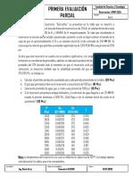 Primer Examen Parcial - Reservorios I (PGP230)