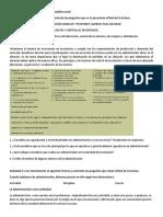 Administracion I Bloque II Actividades 1 2 3 4 y 5