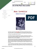 femalefront.com - Ana Lovelis