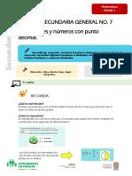Matemáticas F1 14 - 25 sep