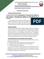 EspecificacionesTénicas Alcantarillado.doc