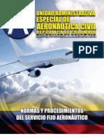 Manual Normas y Procedimientos Del Servicio Fijo Aeronautico