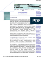 Flora bacteriana y endodoncia